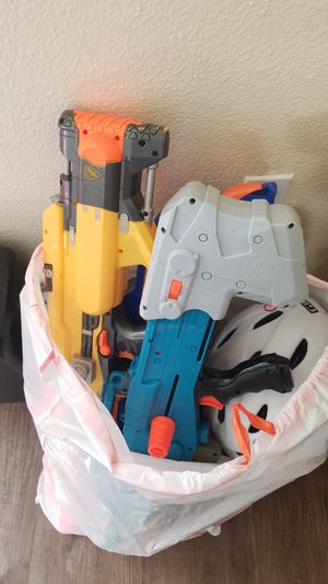 Collection of Nerf guns for Sale in Davis, CA