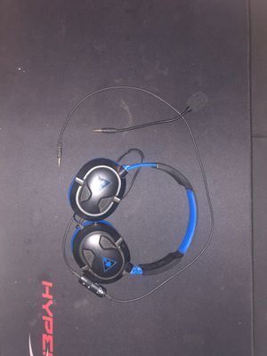 Turtle beach headphones with mic for Sale in Williston, ND