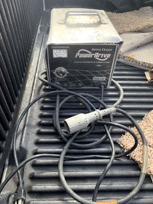 Power drive battery charger for golf cart selling it at a discount because we need money for Christmas for Sale in Palm Harbor, FL