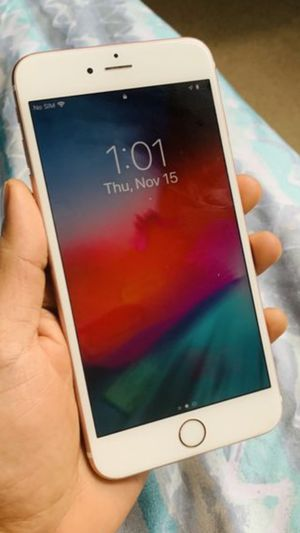 Flawless Condition iPhone 6S Plus 32gb Att / Cricket Rose Gold Color for Sale in Fairfax, VA