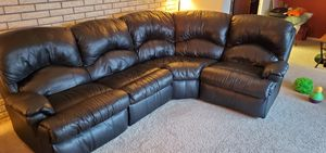 Sofa, sectional leather 5 pieces for Sale in Snohomish, WA