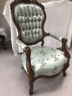 Antique Handcrafted Wood Chair for Sale in Annandale, VA