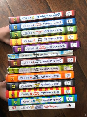 Diary of a Wimpy kid series and Big Nate series for Sale in Upland, CA