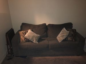 Sofa with pull out bed and matching chair for Sale in Whittier, CA