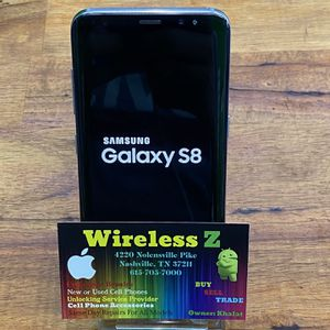 Boost Mobile Samsung Galaxy S8 .... Factory Unlocked for Sale in Nashville, TN