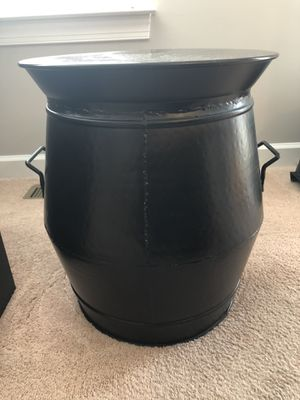 Pottery barn metal drum side tables for Sale in Gainesville, VA