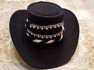 Great for Sombrero Fest ( Black, Off White, Red Plus 2 Extra Bands. for Sale in Brownsville, TX