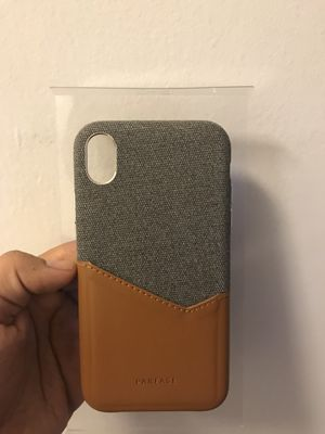 iPhone XS case 6.1 inch Grey Brown unused for Sale in Chevy Chase, MD