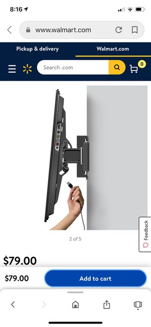Tv wall mount for Sale in Wildomar, CA