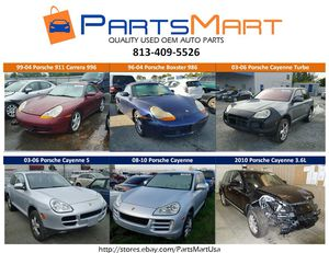 Porsche 911 Carrera Boxster Cayenne USED OEM PARTS for sale for Sale in Tampa, FL