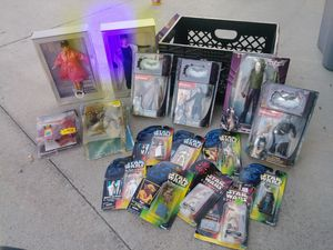 Toy collection, star wars, spawn, Batman, action figures for Sale in Huntington Beach, CA