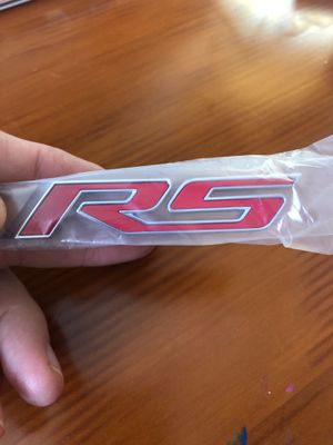 New CHEVY RS Rear Emblem, CHEAP in Factory GM Package for Sale in New Port Richey, FL