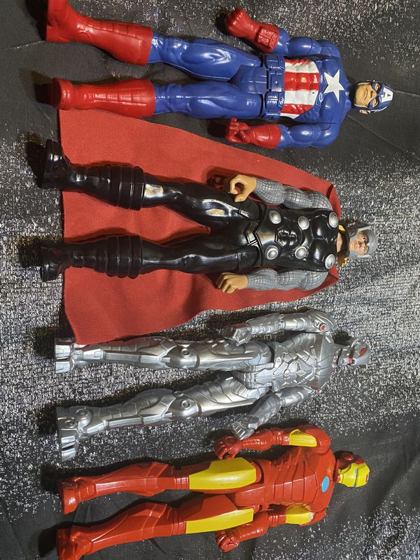 Toy Bundle Superhero DC Comics Iron Man Captain America Thor Ultron