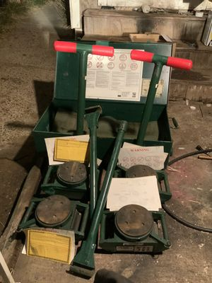 Hillman 12 ton deluxe rollers only e for Sale in San Diego, CA