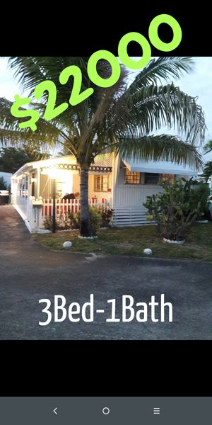 Mobile home or trailer home for sale for Sale in HALNDLE BCH, FL