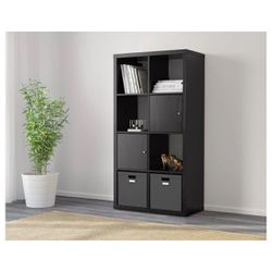 Kallax - Black Brown Shelf Unit for Sale in Brooklyn,  NY