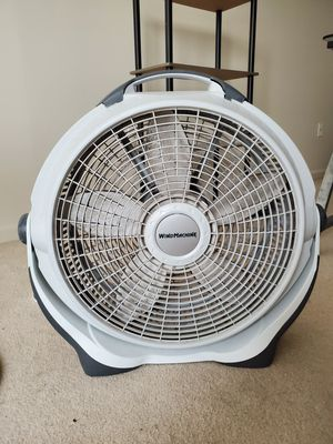 "Lasko 20"" 3-Speed Wind Machine, Gray for Sale in Herndon, VA"