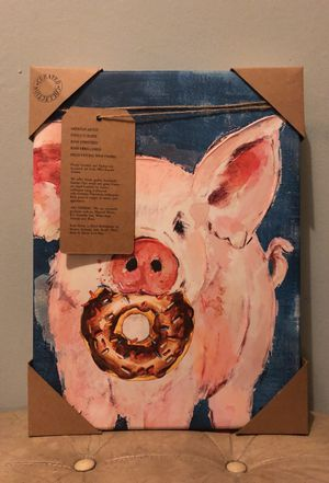 Pig painting for Sale in Pittsburgh, PA