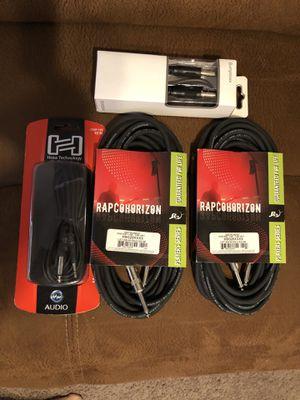DJ cables for Sale in San Antonio, TX