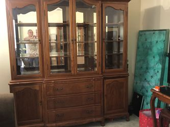 Rosewood China Cabinet for Sale in Long Beach,  CA