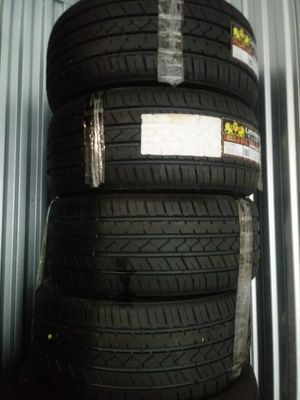 4 new tires no rims 245/35R20 for Sale in Vancouver, WA