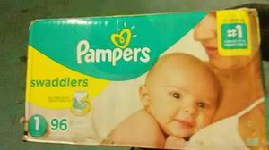 New pampers size 1 96 count for Sale in City of Orange, NJ