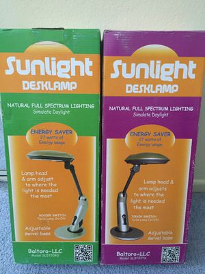 Sunlight desk lamps for Sale in Riverside, CA