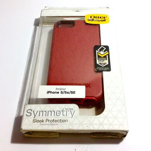iPhone 5, 5s, SE - Otterbox Symmetry Series Case - Rosso Corsa (Flame Red / Race Red) for Sale in San Diego, CA