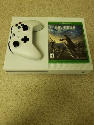 XBOX ONE S 1 controller and 1 game 512 SSD for Sale in Rockville, MD