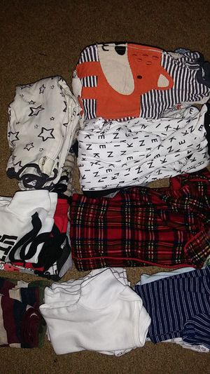 Baby boy clothes bundle 0-3months for Sale in Worcester, MA