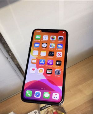 iPHONE X 64Gb Unlocked Excellent Condition for Sale in Cary, NC