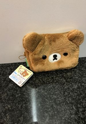 Teddy Bear Wallet : Rilakkuma for Sale in Chicago, IL