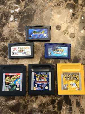 Nintendo gameboy games Pokemon for Sale in Providence, RI