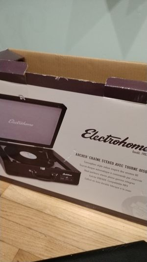 Electrohome turntable stereo system for Sale in Sound Beach, NY