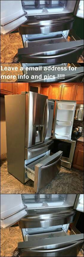 Leαve y0ur e-mαil for more info: LG French Door Refrigerator for Sale in Bismarck, ND