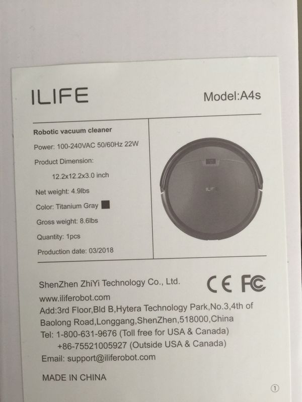 2 Weeks Left Ilife Robovac Can Be Fixed Or For Parts