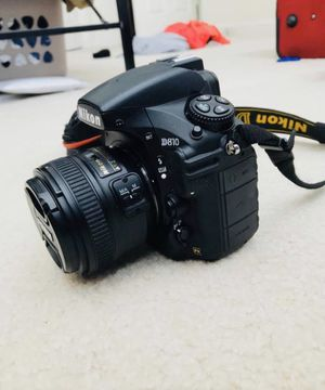 Nikon D810 with 50mm prime lens for Sale in Herndon, VA