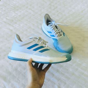 Adidas Men's Tennis Sole Court Boost Parley Sneakers for Sale in Battle Ground, WA