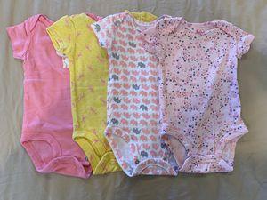 Baby Girls' Short-Sleeve Bodysuit 0-3 Months for Sale in Herndon, VA