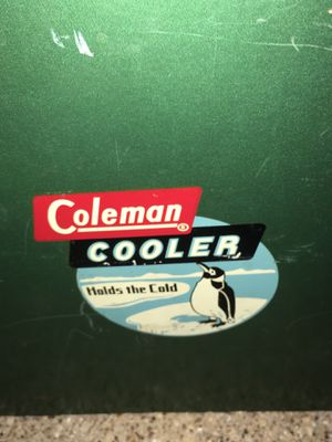 Vintage Coleman cooler for Sale in Dallas, TX