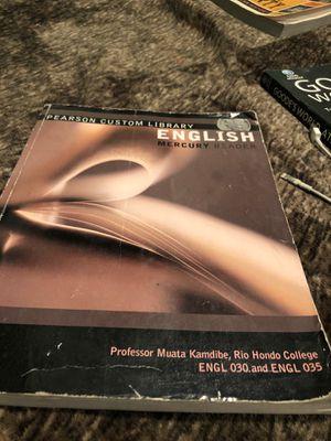 Rio Honda English book for Sale in Downey, CA