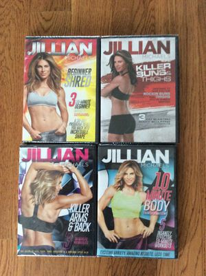 Jillian Michaels Workout dvds x 4 new sealed for Sale in Babson Park, FL