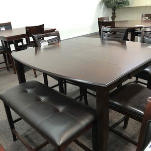 6 PC with bench dining table for Sale in Alhambra, CA