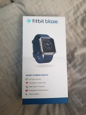 Sm. Blue Fitbit Blaze for Sale in Wenatchee, WA