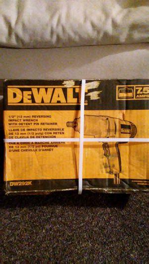 DeWalt 1/2in Reversing Impact Wrench for Sale in Whitestown, IN