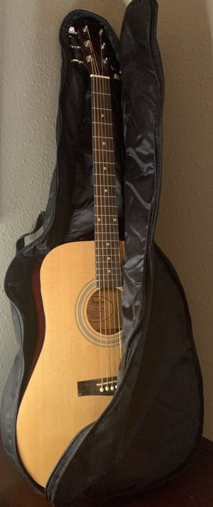 Fender acoustics FA-100 guitar and case excellent condition for Sale in Cypress, TX