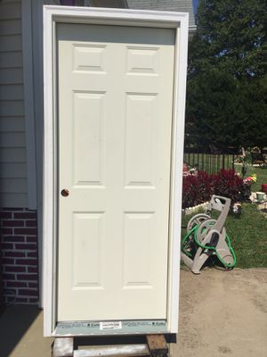 Outside door with frame. for Sale in Wake Forest, NC
