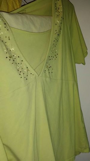Int Green shirt. W beads for Sale in Greenwood, IN