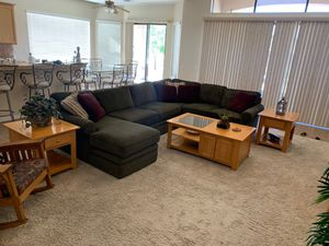 Table Set for Living or Family Room (coffee, sofa table, two end tables) for Sale in Fontana, CA