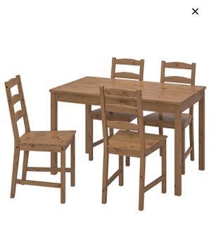 """IKEA table set """"Jokkmokk"""" for Sale in Elizabeth, NJ"""